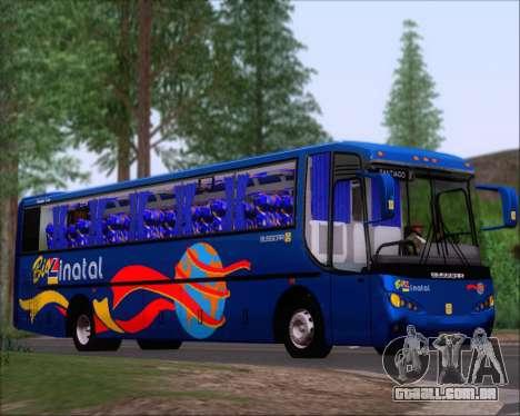 Busscar El Buss 340 Bio Linatal para GTA San Andreas esquerda vista