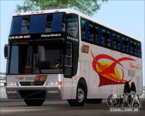 Busscar Jum Buss 400 Volvo B10R Pullman Del Sur para GTA San Andreas esquerda vista