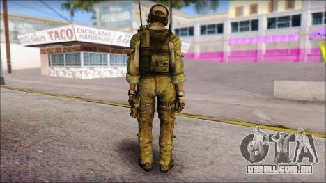 Grinch from Modern Warfare 3 para GTA San Andreas segunda tela
