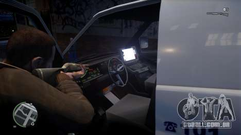 Israel MDA Ambulance para GTA 4 traseira esquerda vista