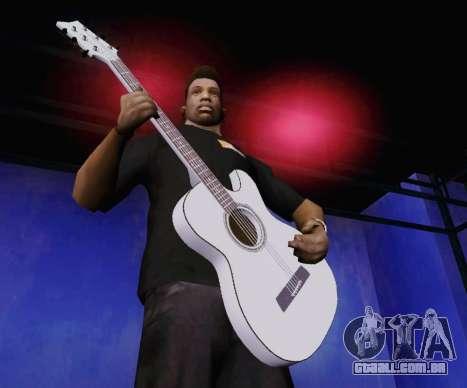 Músicas de Viktor Tsoi guitarra para GTA San Andreas segunda tela