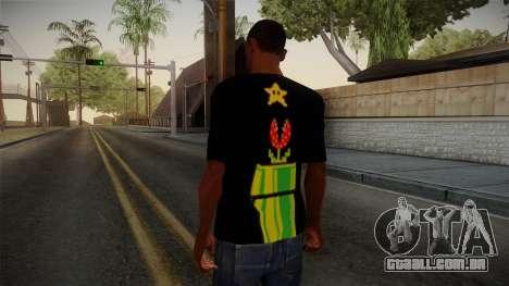 Mario Bros T-Shirt para GTA San Andreas segunda tela