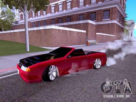 Elegy Cabrio HD para GTA San Andreas esquerda vista