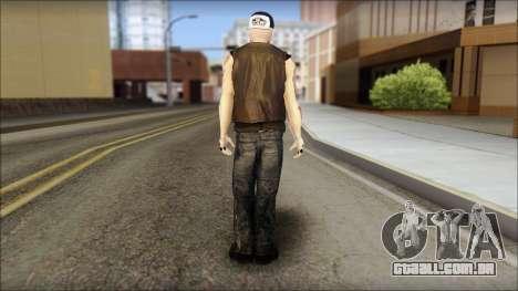 Benji from Good Charlotte para GTA San Andreas segunda tela