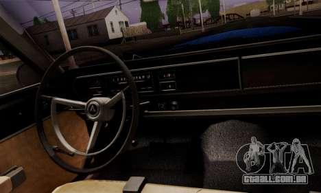 Dodge Coronet 440 Hardtop Coupe (WH23) 1967 para GTA San Andreas vista direita