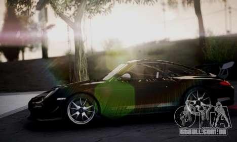 Porsche 911 GT3 RS4.0 2011 para GTA San Andreas vista interior