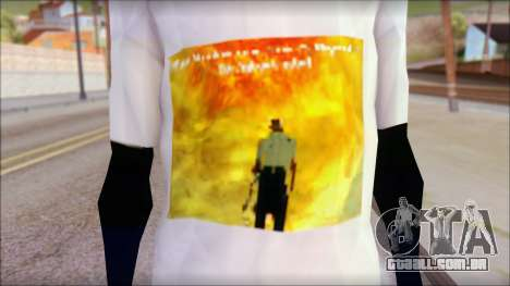 Monster von Back O Beyond T-Shirt para GTA San Andreas terceira tela