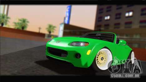 Mazda MX-5 2010 para GTA San Andreas