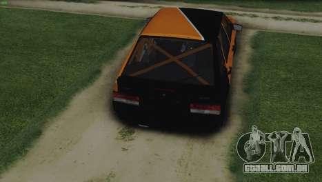 VAZ 2114 Cólicas para GTA San Andreas vista direita