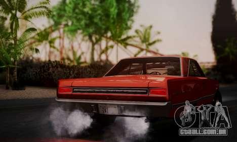 Dodge Coronet 440 Hardtop Coupe (WH23) 1967 para GTA San Andreas esquerda vista