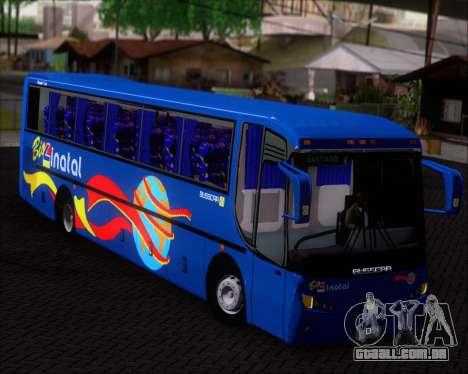 Busscar El Buss 340 Bio Linatal para GTA San Andreas vista interior