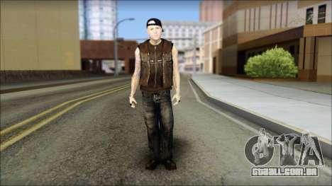 Benji from Good Charlotte para GTA San Andreas