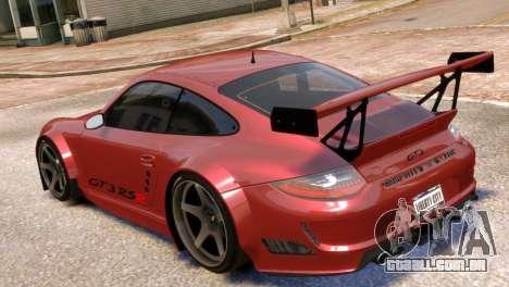 Porsche 911 GT3RSR para GTA 4 esquerda vista
