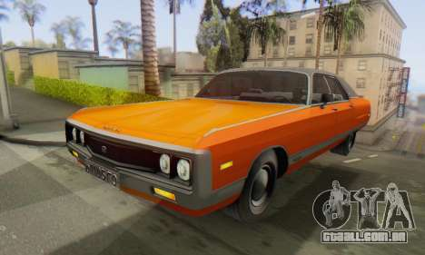 Chrysler New Yorker 1971 para GTA San Andreas vista direita