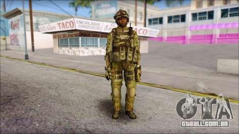 Truck from Modern Warfare 3 para GTA San Andreas