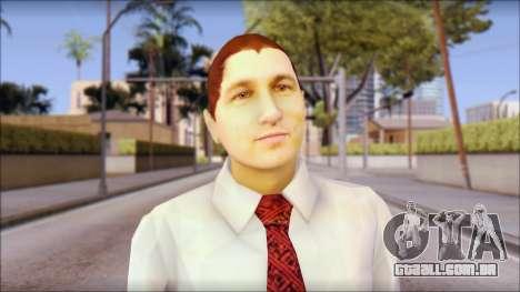 Dean from Good Charlotte para GTA San Andreas terceira tela