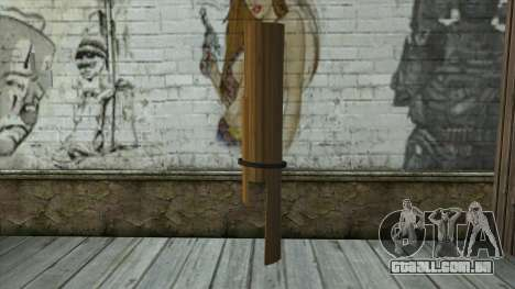Senjata Kentongan Sahur para GTA San Andreas segunda tela