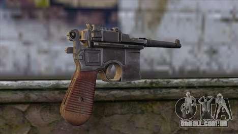 Mauser C-96 para GTA San Andreas segunda tela