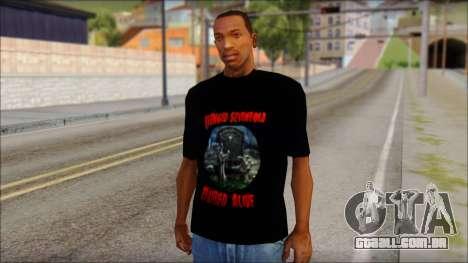 A7X Buried Alive Fan T-Shirt v1 para GTA San Andreas