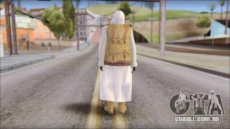 Arabian Skin para GTA San Andreas segunda tela