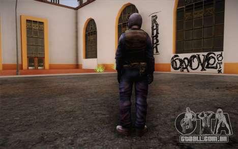 British Riot Police from Killing Floor para GTA San Andreas segunda tela