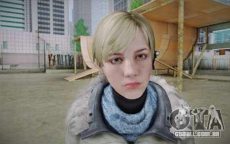 Sherry Birkin Europa from Resident Evil 6 para GTA San Andreas terceira tela