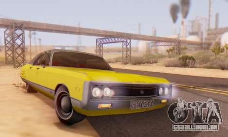 Chrysler New Yorker 1971 para GTA San Andreas vista superior