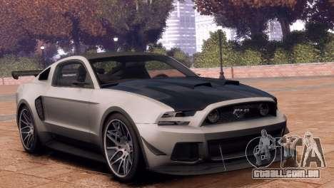Ford Mustang GT 2014 Custom Kit para GTA 4 vista direita