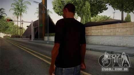 Plants versus Zombies T-Shirt para GTA San Andreas segunda tela