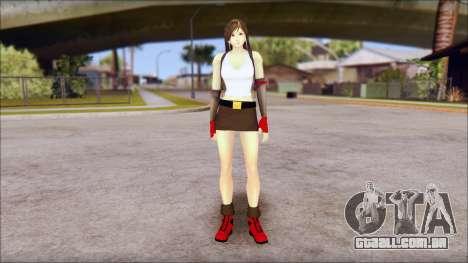 Final Fantasy VII - Tifa para GTA San Andreas