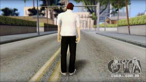 Dean from Good Charlotte para GTA San Andreas segunda tela