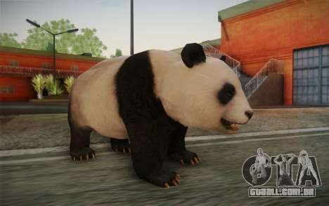Panda Gigante para GTA San Andreas