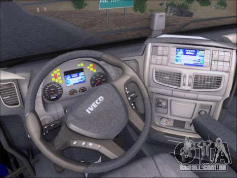 Iveco Stralis HiWay 560 e6 4x2 para as rodas de GTA San Andreas