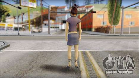 Girl on heels para GTA San Andreas segunda tela