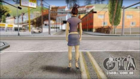 Girl on heels para GTA San Andreas segunda tela