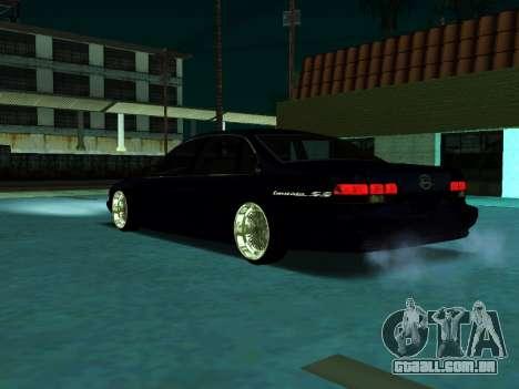Chevrolet Impala SS 1995 para GTA San Andreas traseira esquerda vista