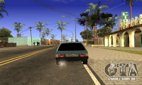 ZAZ Tavria para GTA San Andreas esquerda vista