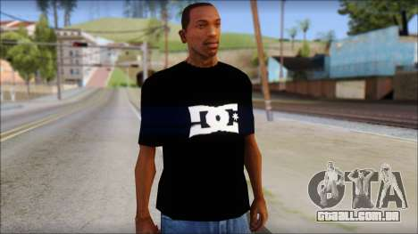 DC Shoes Shirt para GTA San Andreas
