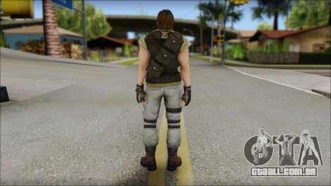 Carlos para GTA San Andreas segunda tela