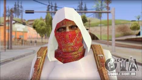 Arabian Skin para GTA San Andreas terceira tela