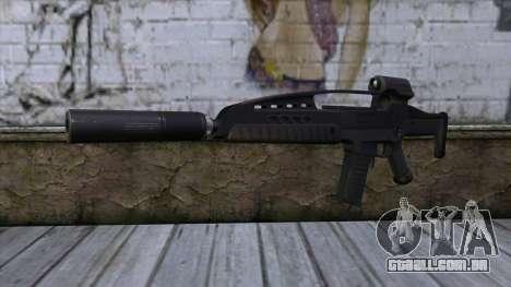 XM8 Assault Black para GTA San Andreas