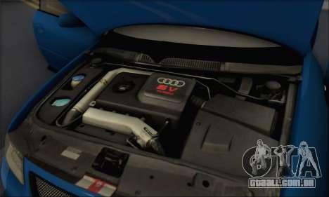 Audi A3 1999 para GTA San Andreas vista superior
