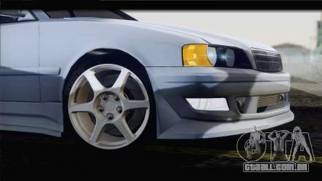 Toyota Chaser Tourer Stock v1 1999 para GTA San Andreas vista direita