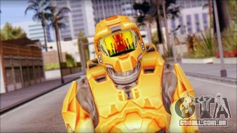 Masterchief Orange para GTA San Andreas