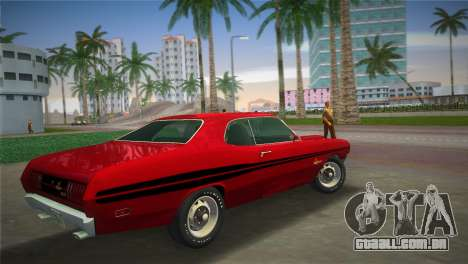 Dodge Dart Demon 340 1971 para GTA Vice City deixou vista