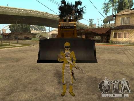 Power Rangers Operation Overdrive para GTA San Andreas por diante tela