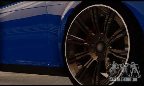 Ubermacht Zion XS 1.0 para GTA San Andreas vista direita