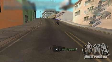 Unfreeze para GTA San Andreas terceira tela