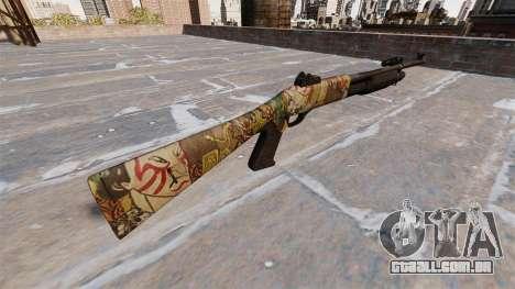 Ружье Benelli M3 Super 90 ronin para GTA 4 segundo screenshot