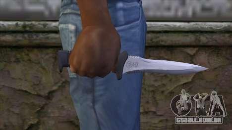 Knife from Resident Evil 6 v1 para GTA San Andreas terceira tela